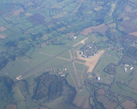RAF Lyneham - taken from flight approaching London Heathrow 28 Sept 2011 about 07:30 hours - by Neil Henry