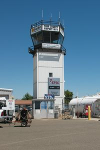 Yuba County Airport (MYV) - The Tower - by Timothy Aanerud