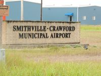 Smithville Crawford Municipal Airport (84R) - SIGN AT ENTRANCE TO SMITHVILLE-CRAWFORD MUNICIPAL AIRPORT - by dennisheal