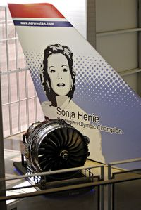 Snohomish County (paine Fld) Airport (PAE) - Sonja Henie at Future of Flight - by metricbolt