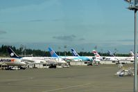 Snohomish County (paine Fld) Airport (PAE) - B787s at Paine Field - by metricbolt