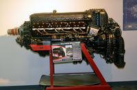 Virginia Beach Airport (42VA) - Rolls Royce Merlin V-1650 engine, Military Aviation Museum, Pungo, VA - by Ronald Barker