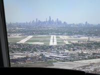 Chicago Midway International Airport (MDW) - On final to MDW - by Clyde Harrow