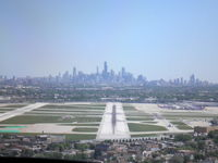 Chicago Midway International Airport (MDW) - On final into MDW - by Clyde Harrow