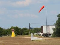 Thunderbird Southwest Airport (88TE) - Wind sock and wind direction indicator - by dennisheal