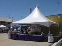 Camarillo Airport (CMA) - Wings Over Camarillo Airshow 2013, Airshow Information Booth - by Doug Robertson
