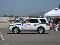 Camarillo Airport (CMA) - Camarillo Airport Patrol Car #4. CMA is owned by Ventura County, as is OXR-Oxnard is nearby also with an Airport Traffic Control Tower. - by Doug Robertson