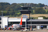 Leeds Bradford International Airport, West Yorkshire, England United Kingdom (EGNM) - Leeds Bradford tower - by Chris Hall