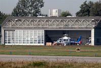 Hanover/Langenhagen International Airport, Hanover Germany (EDDV) - Hanover police heli base..... - by Holger Zengler