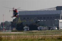 Hanover/Langenhagen International Airport, Hanover Germany (EDDV) - Rescue heli base on GAT....... - by Holger Zengler