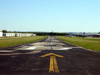 Northwest Regional Airport (52F) - Looking down Runway 17. - by flyboybma