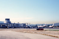 Bob Hope Airport (BUR) - Burbank as it was in 1995 when I was fortunate to have a guided tour of the field. - by Pete Hughes