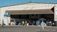 Double Eagle Ii Airport (AEG) - Bode Aviation Hanger during the 2013 EAA Chapter 179 Fly-in - by Roland Penttila