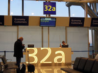 Helsinki-Vantaa Airport, Vantaa Finland (EFHK) - I loved how the big gate number is iluminated once the gate opens. Looked beautiful! - by Micha Lueck