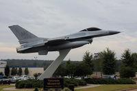 Atlanta Regional Falcon Field Airport (FFC) - the gate guardian - by olivier Cortot