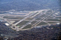 Chicago Midway International Airport (MDW) - Taken from the plane after takeoff from ORD - by Bruce H. Solov
