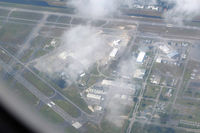 Palm Beach International Airport (PBI) - Descending towards MIA, from my airplane seat - by Bruce H. Solov