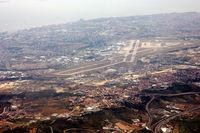 Portela Airport (Lisbon Airport), Portela, Loures (serves Lisbon) Portugal (LPPT) - Lisbon Airport, from high above - by JPC