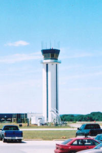 New Castle Airport (ILG) - The new ATC tower at New Castle County Airport - by Bruce H. Solov
