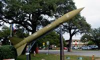 Mabry Ahp /ng/ Heliport (TX26) - Honest John Rocket, Lot 6758-3179, Texas Military Museum, Camp Mabry, TX - by Ronald Barker