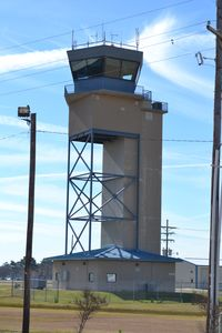 Chennault International Airport (CWF) - Chennault International Airport Control Tower - by wazamoo