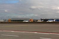 Cologne Bonn Airport, Cologne/Bonn Germany (CGN) - BizJets on RW 14R - by Wolfgang Zilske