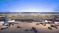 Soekarno-Hatta International Airport, Cengkareng, Banten (near Jakarta) Indonesia (WIII) - The new design of Soekarno-Hatta International Airport, Jakarta - Terminal 3 (will be opened in early 2015) - by NN