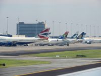 OR Tambo International Airport - Cargo and passenger aircrafts at JNB - by Paul H