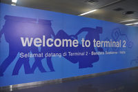 Soekarno-Hatta International Airport - Welcome to Terminal 2 SOEKARNO-HATTA International Airport Jakarta. - by NN