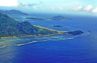 Seychelles International Airport - Seychelles International, end of runway - by JPC