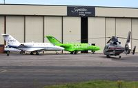 Bournemouth Airport, Bournemouth, England United Kingdom (EGHH) - Mixed bag at Signatures - by John Coates