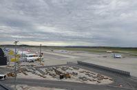 Vienna International Airport, Vienna Austria (LOWW) - View from the visitors deck. - by David Pauritsch