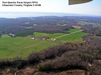 New Quarter Farm Airport (92VA) - New Quarter Farm Airport 92VA Gloucester County, Virginia Photo by Kenneth W. Keeton 3-10-08 - by Kenneth W. Keeton