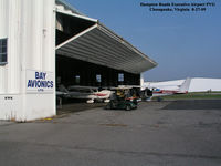 Hampton Roads Executive Airport (PVG) - Hampton Roads Executive Airport PVG Chesapeake, Virginia Photo by Kenneth W. Keeton 8-27-09. - by Kenneth W. Keeton
