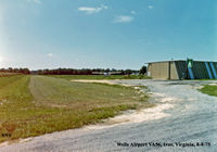Wells Airport (VA56) - Wells Airport, VA56 Ivor, Virginia Photo by Kenneth W. Keeton 8-8-75. - by Kenneth W. Keeton