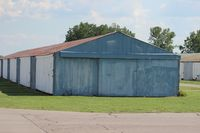 Canton-plymouth-mettetal Airport (1D2) - old hangars at Plymouth Mettetal Airport - by Florida Metal