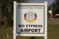 Big Cypress Airfield Airport (59FD) - Big Cypress Airport owned by the Seminole Tribe of Florida - by Florida Metal