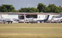 Fort Lauderdale Executive Airport (FXE) - hangars at FXE - by Florida Metal