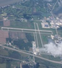 Carl R Keller Field Airport (PCW) - Port Clinton Airport - by Florida Metal