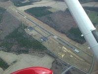 Tri-county Airport (ASJ) - Tri-County airport  from overhead. - by A.C.