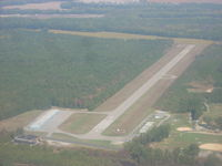 Wakefield Municipal Airport (AKQ) - Looking Northeast - by George Schmidt