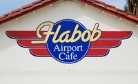 Flabob Airport (RIR) - New Cafe Logo - by Larry Van Dam