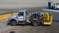 Chicago O'hare International Airport (ORD) - Fuel pump truck at O'Hare - by Ronald Barker