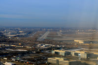 Chicago O'hare International Airport (ORD) - O'Hare on approach - by Ronald Barker