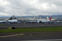 Honolulu International Airport, Honolulu, Hawaii United States (PHNL) - International terminal - by Micha Lueck