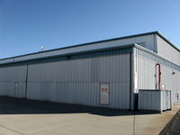 Santa Paula Airport (SZP) - 11 Vicki Cruse taxiway, Hangar FOR SALE, large with living quarters above - by Doug Robertson