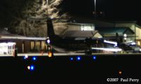 Pitt-greenville Airport (PGV) - Nightly arrival of the Piedmont/US Air bird - by Paul Perry
