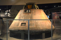 Wright-patterson Afb Airport (FFO) - Apollo 15 at the AF Museum - by Ronald Barker