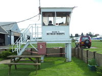 Netherthorpe Airfield - Netherthorpe Tower - by Chris Hall