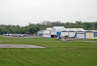 Carlisle Airport (N94) - This is the general aviation ramp of Carlisle Airport - accessible only to pilots and their passengers. - by Daniel L. Berek